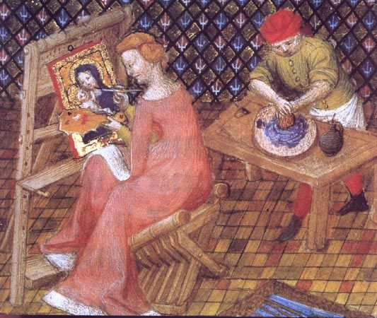 Anonymous French illuminated manuscript from the Middle Ages